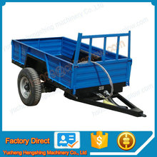 Tractor 4 wheels farm trailer for sale