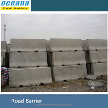 steel mould to making concrete barriers and concrete curbstone
