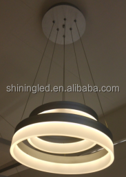 NEW Stylish Simplicity LED Pendant Hanging Light Circular Acrylic Lamp