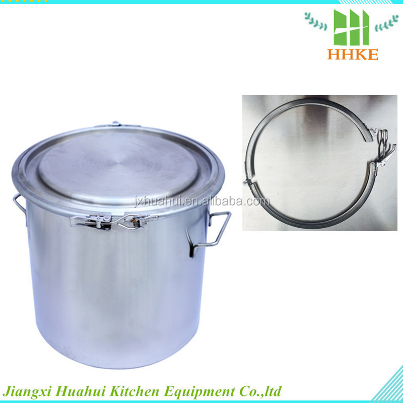 Pharmaceutical container stainless steel drum mixer chemical reagent storage barrel