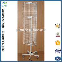 professional supplier oem wire rotary display rack shelf