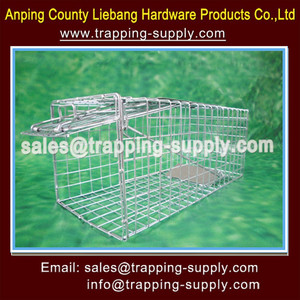 Small Animal live Hunting Trap for Red Squirrel Grey Squirrel Rabbit Ferrets