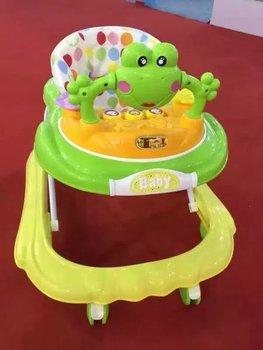 2016 new cheap old fashion baby walker manufacture,unique andador bebe walkers for kids babies with mesh seat