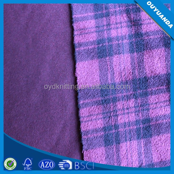 Super Soft Discharge Print Velboa 100% Polyester Short Pile Fabric for Garment