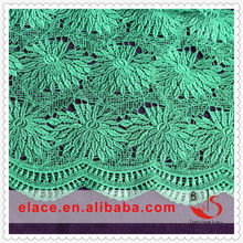 New fashion pretty beautiful high quality lace fabric folding fan
