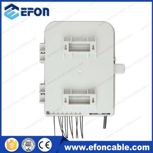 Wall Mount ftth epon onu modem key lock terminal splitter box