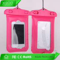 Special pvc waterproof case for iphone 4 4s mobile phone