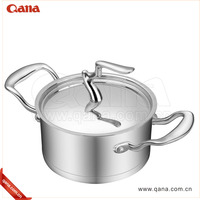 2016 Fall Canton Fair New design High quality stainless steel cookware set with steel lid