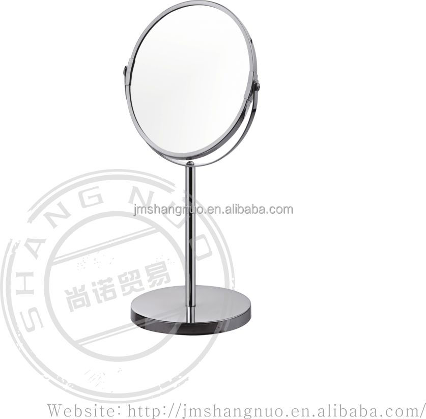 table stand stainless steel mirror