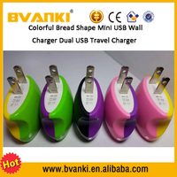 Lovely Steamed Bread Wall Charger Adapter for iPhone 5 6 for Samsung Android Phone charger