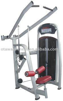 Lat pull down fitness equipment