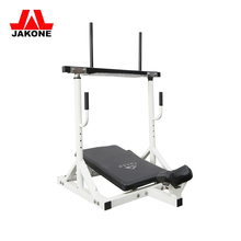 Commercial Leg Press Plate Loaded Gym Machine / Hammer Strength Hack Squat Machine For Leg Workout