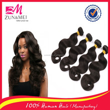 best quality human hair weaving body wave brazilian hair accept paypal