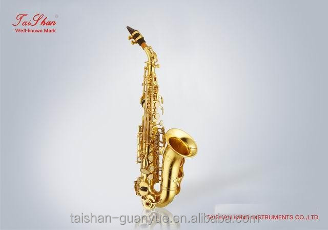 2016 good sale Cheap chinese sopranino saxophones/sax