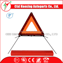 Roadblock led Warning Triangle/ Reflective roadway safety triangle sign