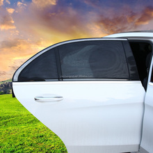 Rear Door Window Cover Retractable Car Sunshade Curtain
