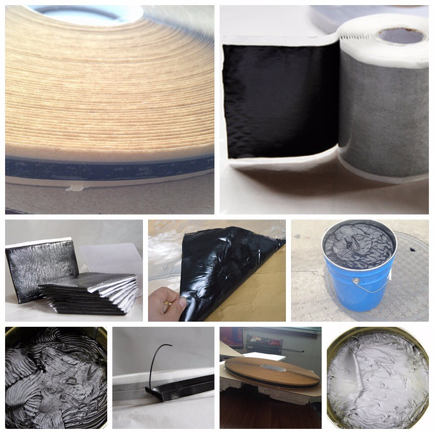 Aluminum butyl tape car sound deadener product 2mm x 1m x 7m/roll