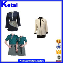 China Factory Hotel Waiter Uniform For Waiter And Waitress