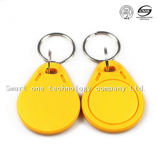 Smart one tech key card apartment key fob leather keyfob ABS key fob