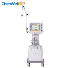 High quality clinical equipment touch screen ICU medical ventilator price CWH-3010A