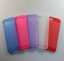 Ultra Slim Thin TPU Gel Soft Cover silicone case for iphone 4/4s