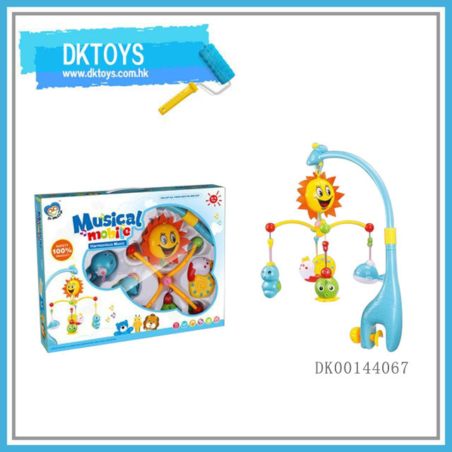 New Coming Plastic Musical Baby Mobile Toys