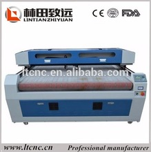 Promotion auto feeding 1325 home fabric laser cutting machine for making clothes