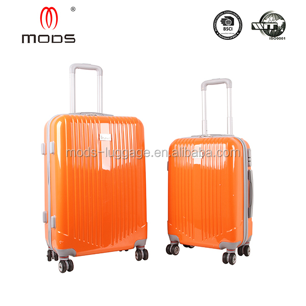 ORANGE COLOR 2PCS SET ABS HARD CASE SCOOTER LUGGAGE