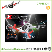 New Arrival !Small Size mini flying drone 2.4G 4 channel rc quadcopter rc toys with 360 degree 3D flip CX18