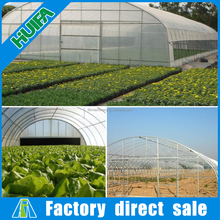 High tunnel plastic film commercial greenhouse for sale