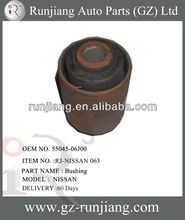 Control arm bushing use for nissan spare parts OEM No 55045-06J00