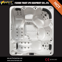Luxury 2 lying outdoor hot tub wholesale price spa pool