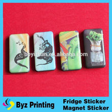 Promotional Glass Refrigerator Magnet/ Custom Fridge Magnet