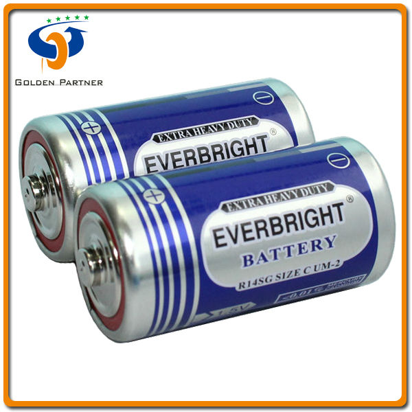 c size r14p battery 1.5v made in china
