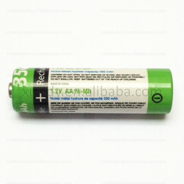 primary 1.2V aa battery (remote battery)