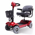 4 wheeler folding mobility scooter electric handicapped scooter with single seat for olders
