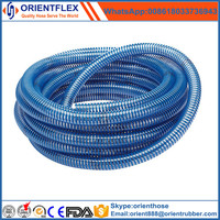 flexible PVC suction hose suction tube with fittings