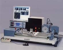 Electronic Tensometer, Model PC-2000 (Bench Model Horizontal Tensile Testing Machine Capacity: 20 KN)