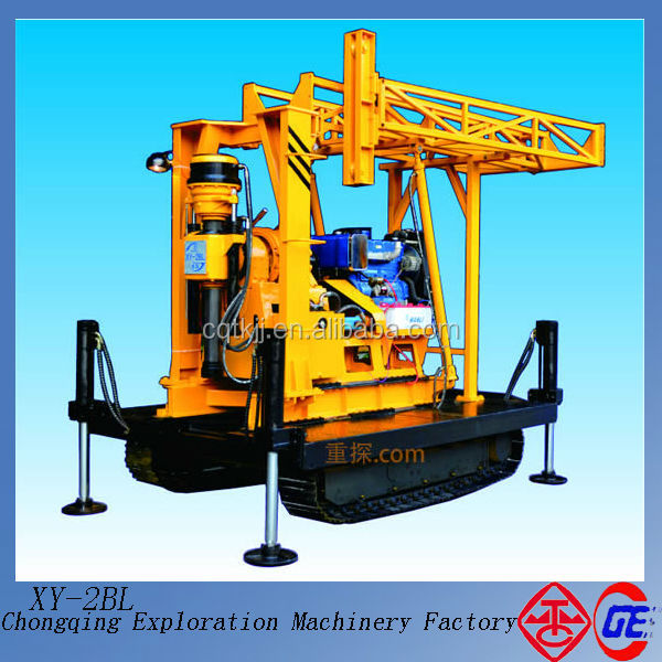Special recommend new easy operation ce certification crawler XY-2BL 350hp workover rig