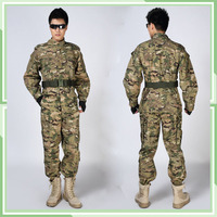 cheap breathable 6 colors desert camo military uniform