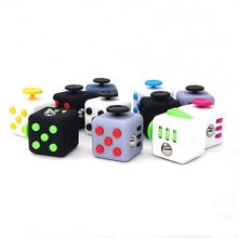 In Stock Cheap Bulk Fidget Cube Vinyl Desk Toy 2016 Newest Fidget Cube Anti Irritability Toy Magic Cobe Funny Christmas Gifts