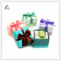 Mountain Custom Made Beautiful Paper Gift Box with Pillow Inserts For Watch