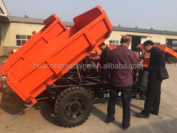 Loading Capacity Diesel Engine Cargo Three Wheel Tricycle