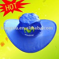 promotion folding cowboy hat from factory
