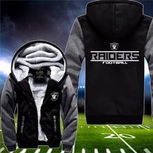 New Football Game Casual Jackets Super Warm Man Women Thicken Fleece Custom Sublimation Sportswear