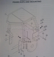 Shantui SD16 rops frame 16Y-59D-01000 In stock