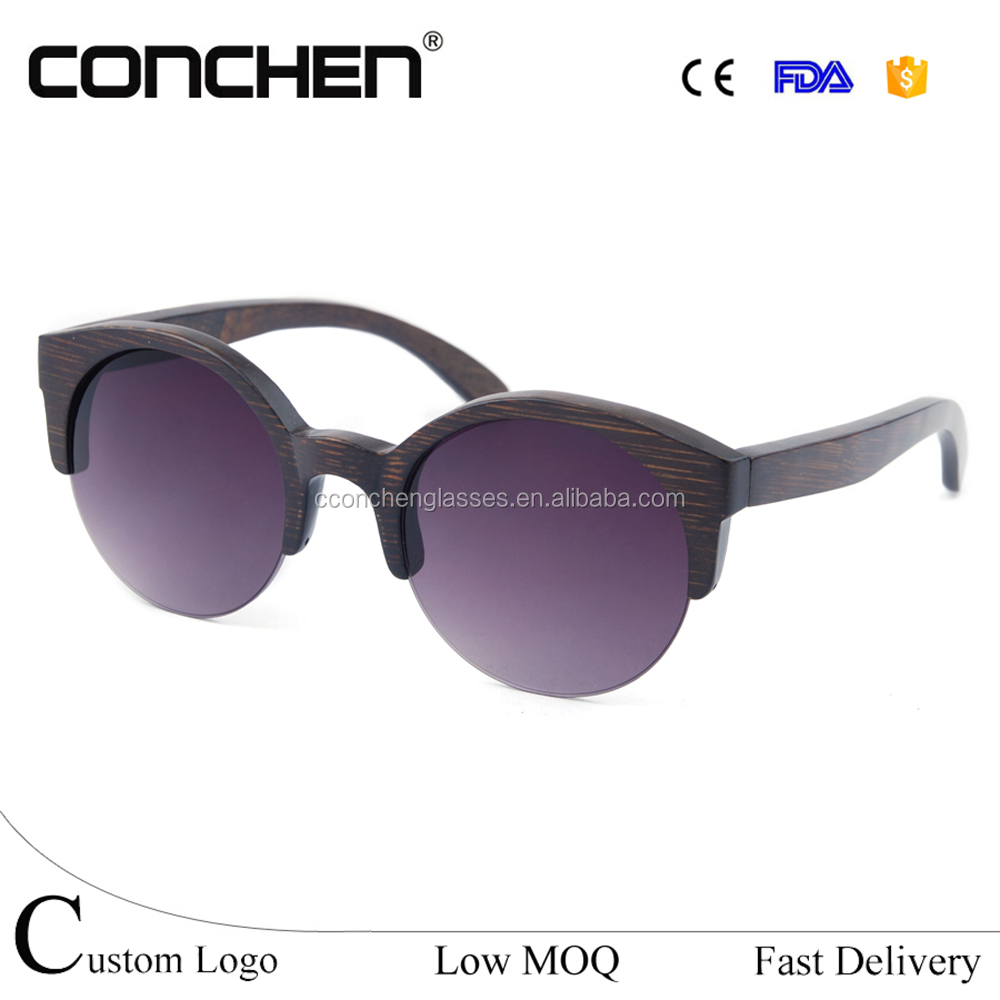 brand name spectacle frames glasses polarized bamboo frame sunglasses sunnies with side shields