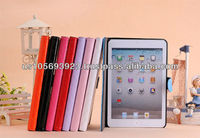 Newest PU leather smart cover case for Mini Ipad