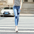 Fashion High Quality Woman Stretch Fit Denim Jeans Trousers Hot Sale Ladies Washed Skinny Jeans