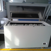 CE certificate save sea fish ultra low temperature freezer display freezer